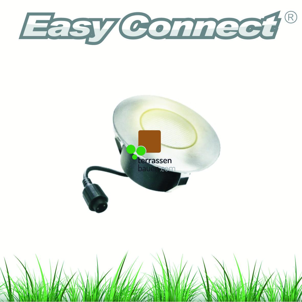EasyConnect LED Einbauleuchte ø 95mm, 230VAC, 1 Stück, verschiedene Ausführungen