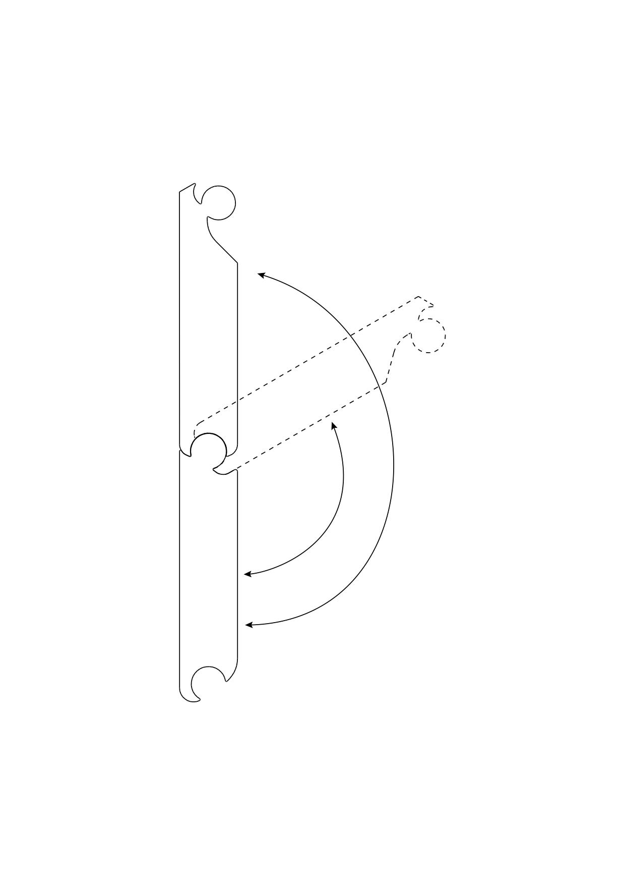K&R Terracon variabler Eckerverbinder für SMART Isostep, 80mm Schenkellänge, 1 Stück