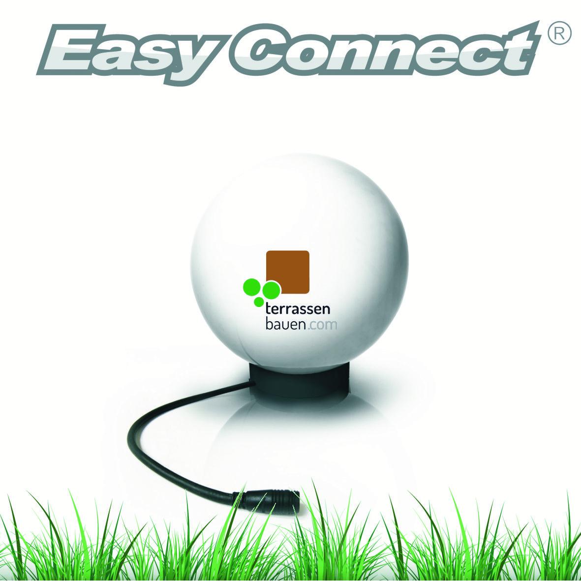 "EasyConnect LED Außenleuchte ""Ball"", 5W, 230VAC, 1 Stück"