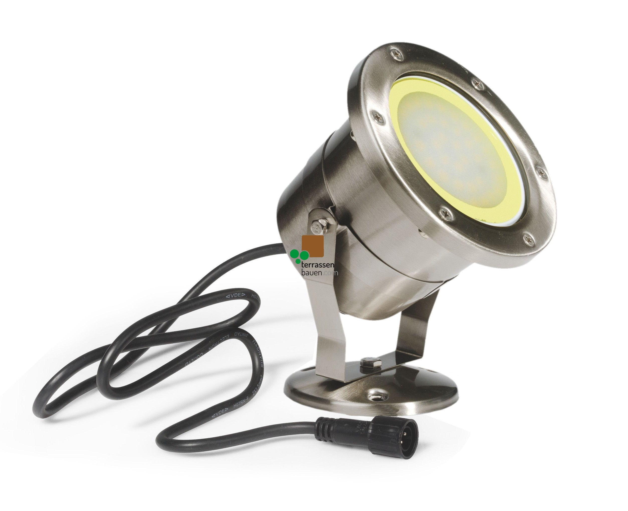 "EasyConnect LED Außenleuchte Edelstahl ""Spot V2A"", 230VAC, 1 Stück"