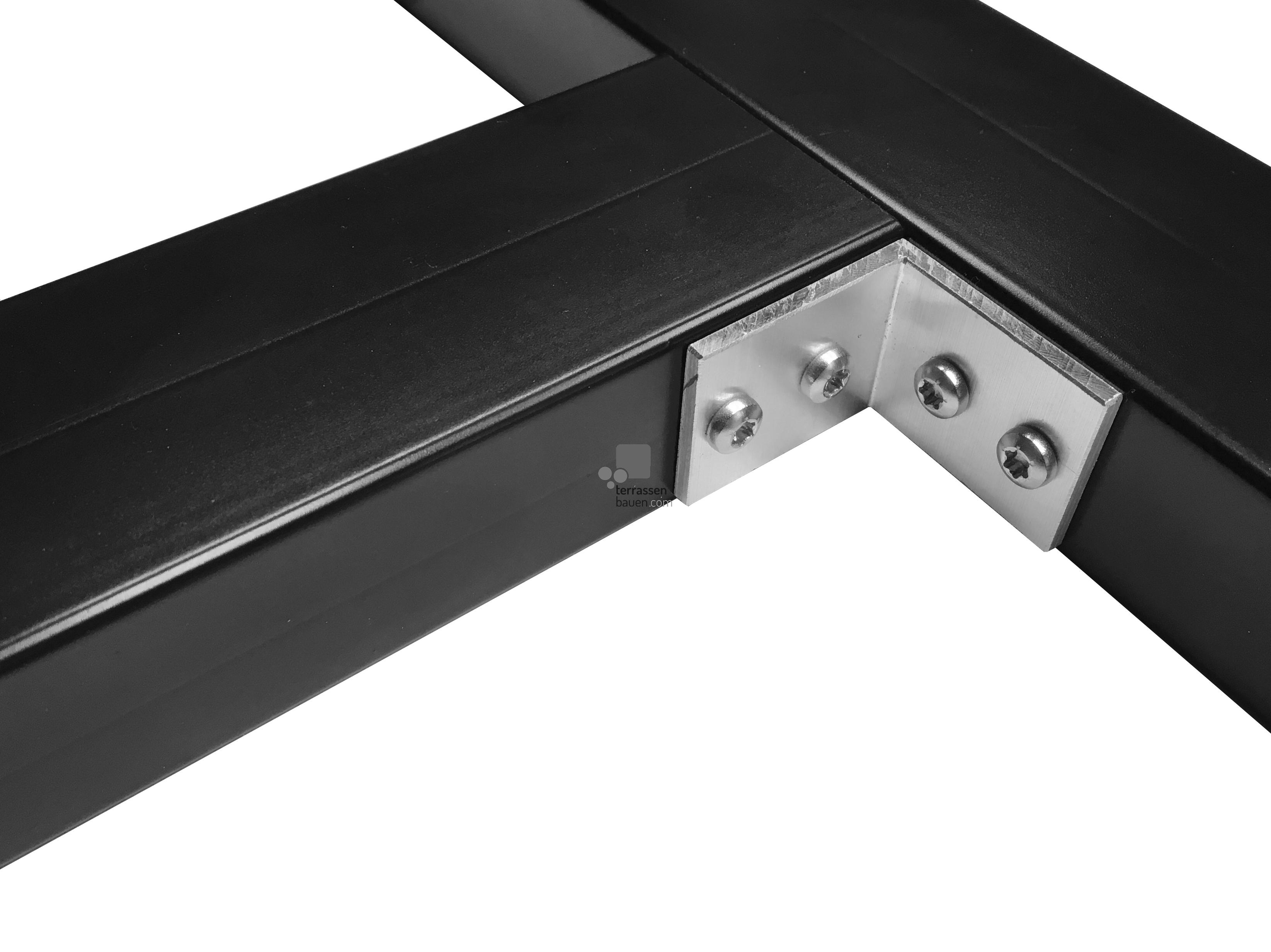 K&R Terracon DA-Winkel für Base und 50x30mm Alu UK, 30 Stück