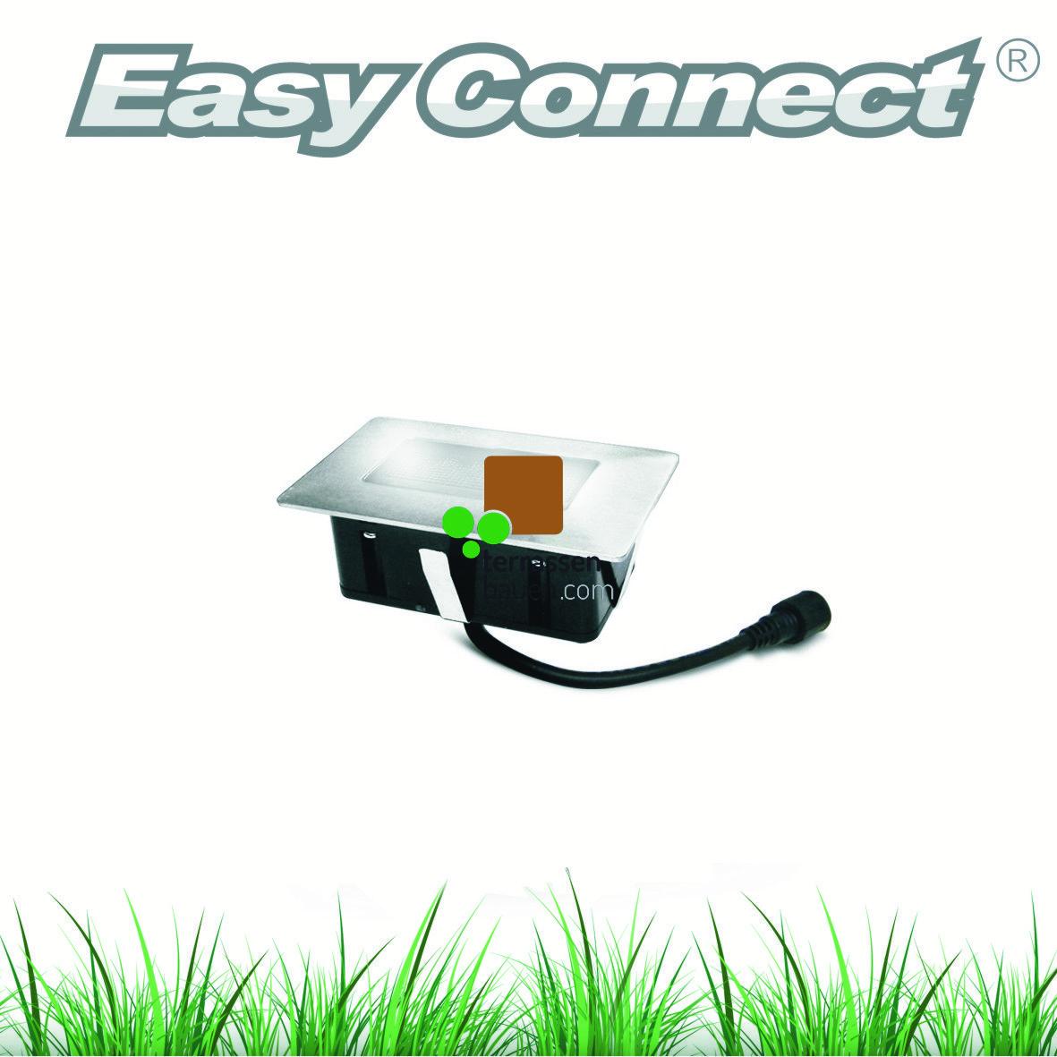 EasyConnect LED Einbauleuchte 100x60mm, 230VAC, 1 Stück, verschiedene Ausführungen