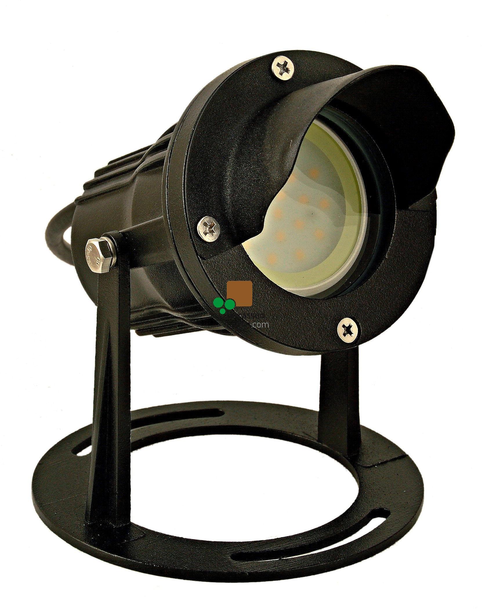 "EasyConnect LED Außenleuchte Aluminium ""Spot round M"", 230VAC, 6,5W, 1 Stück"