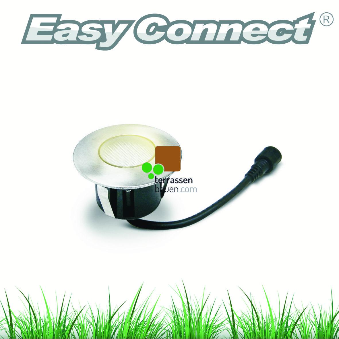 EasyConnect LED Einbauleuchte ø 75mm, 230VAC, 1 Stück, verschiedene Ausführungen