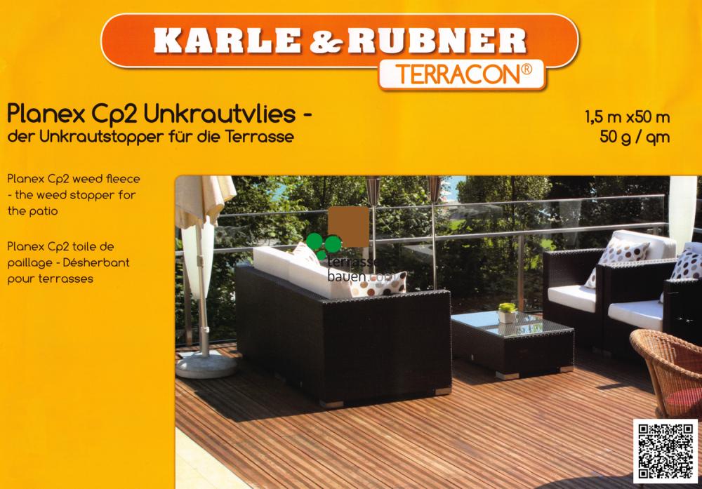 K&R Terracon Planex-CP2-Unkrautvlies schwarz