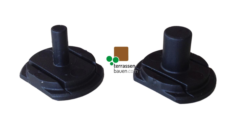 K&R Terracon Systemleisten-Bolzen, 200 Stück