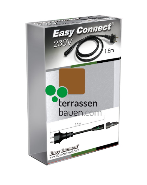 "EasyConnect Anschlusskabel ""C"" Anschlußstecker Schweiz (CH), 230VAC an EasyConnect"