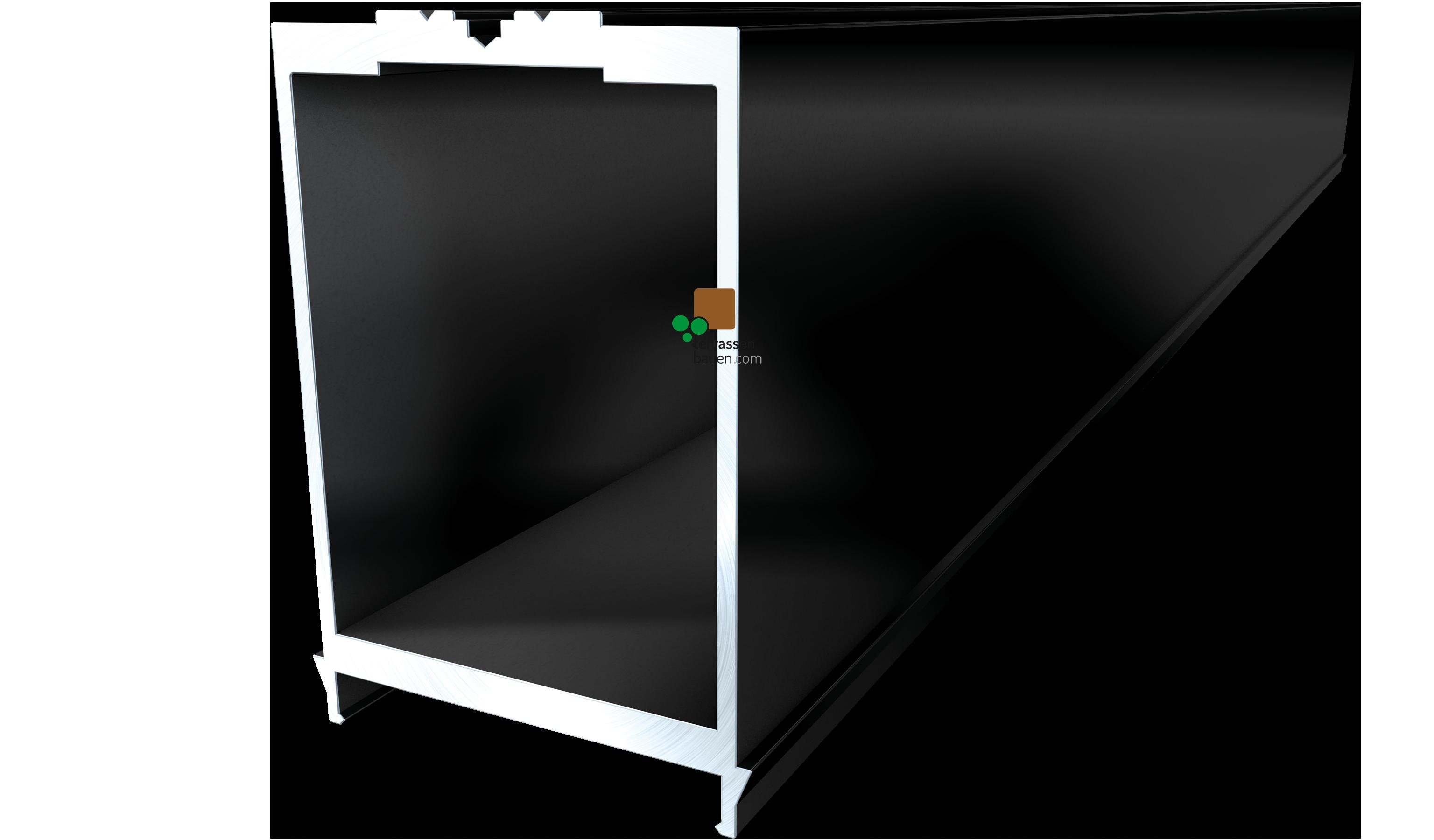 K&R Terracon Isostep MEGA CLIP, 64x95x4000mm