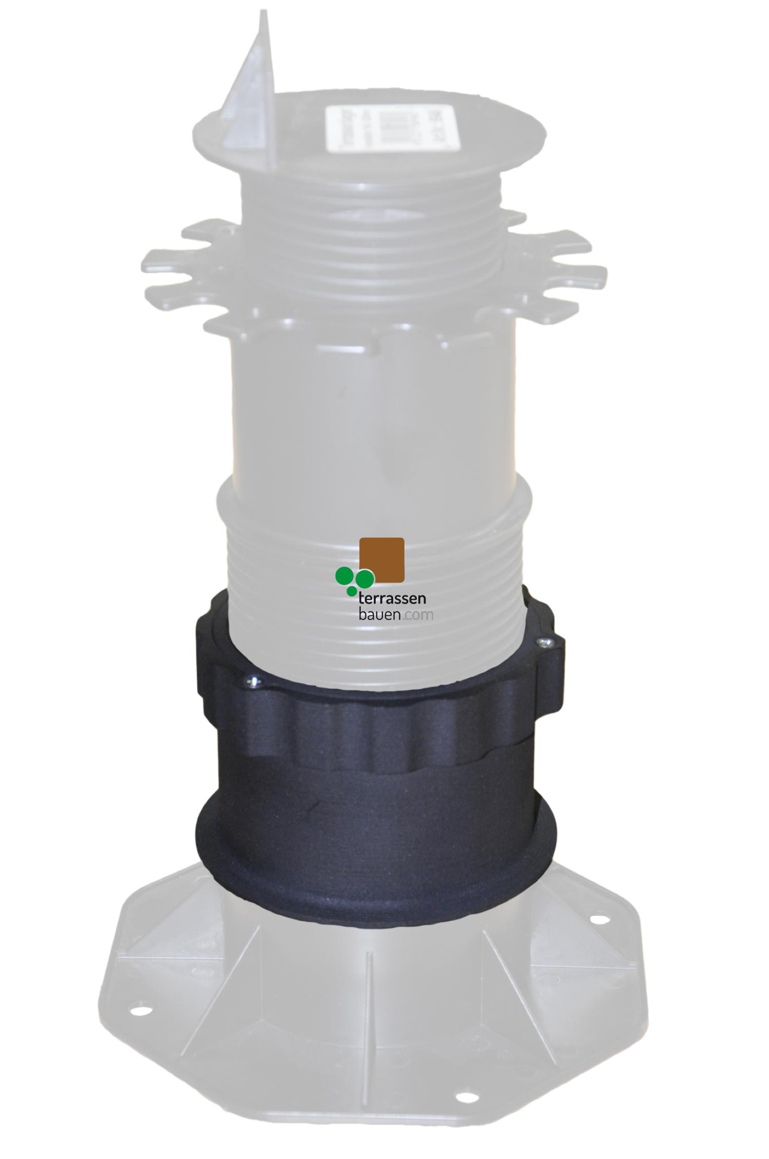 K&R Terracon Adapter für Terrassenlager, 80 mm Verlängerung