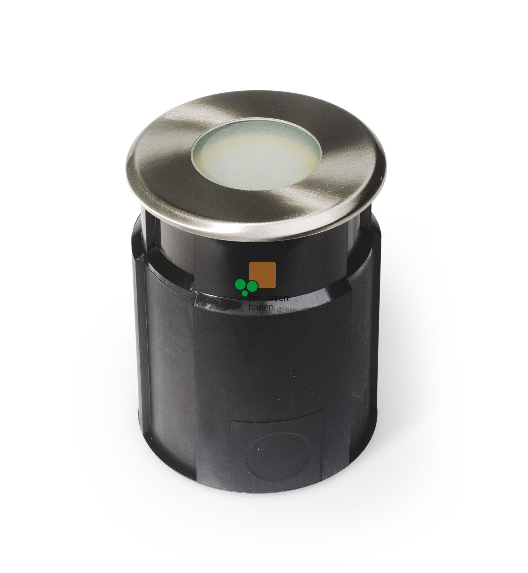 EasyConnect Edelstahl LED Bodenleuchte ø 120mm, 230VAC, 1 Stück