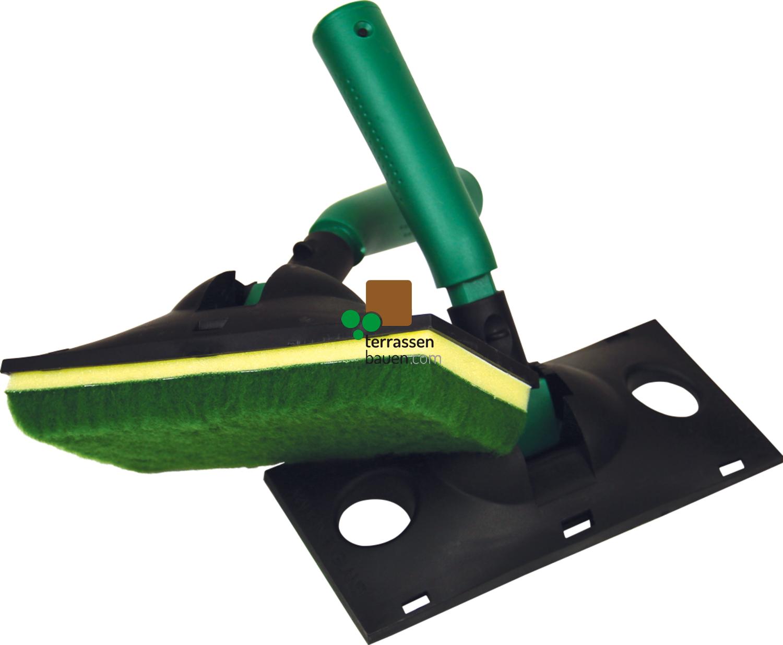 """WOCA Applikator für Exterior Öl, 9"""" breit (22,8 cm) mit Pad"""