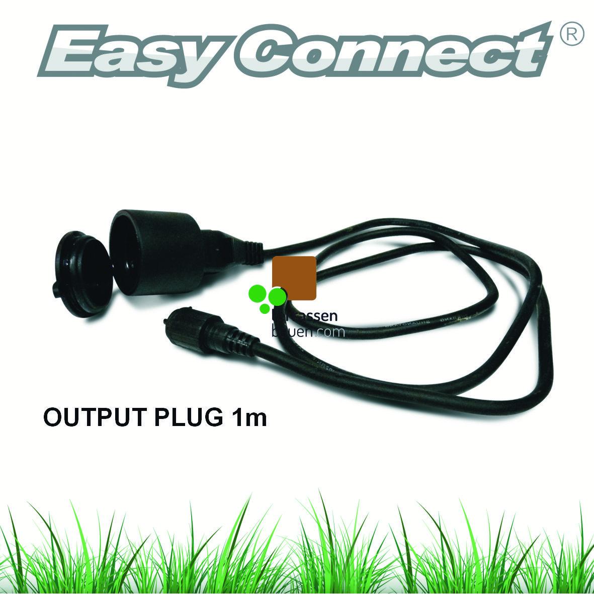 EasyConnect Adapterkabel für den Direktanschluss fremder Geräte, Schuko-Buchse, 1m, 230VAC