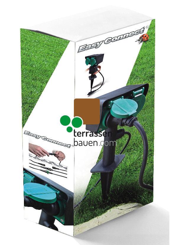 EasyConnect Doppelsteckdose Schuko (EU), 230VAC