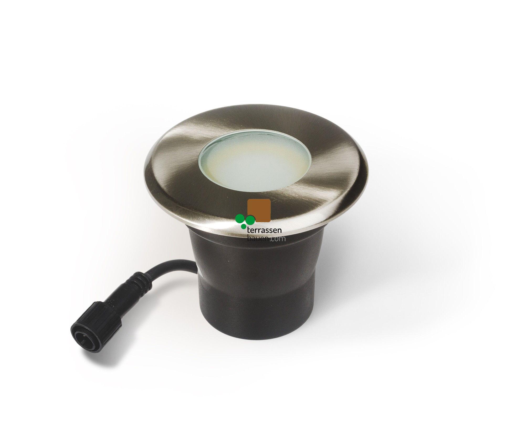 EasyConnect Edelstahl LED Einbauleuchte ø 120mm, 230VAC, 1 Stück