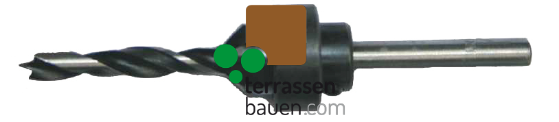 K&R Qualitäts-Bohrer mit Senker 6mm