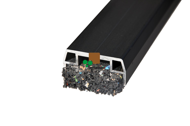 K&R Terracon Isostep SMART Aluminium-Unterkonstruktion, schwarz