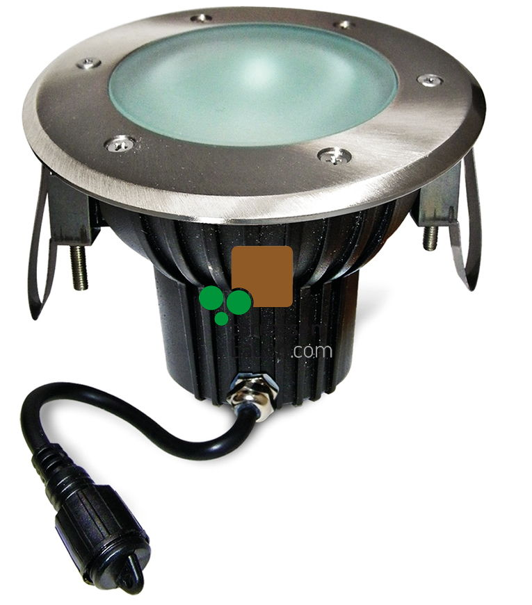 EasyConnect Edelstahl LED Einbauleuchte ø 160mm, 230VAC, 1 Stück