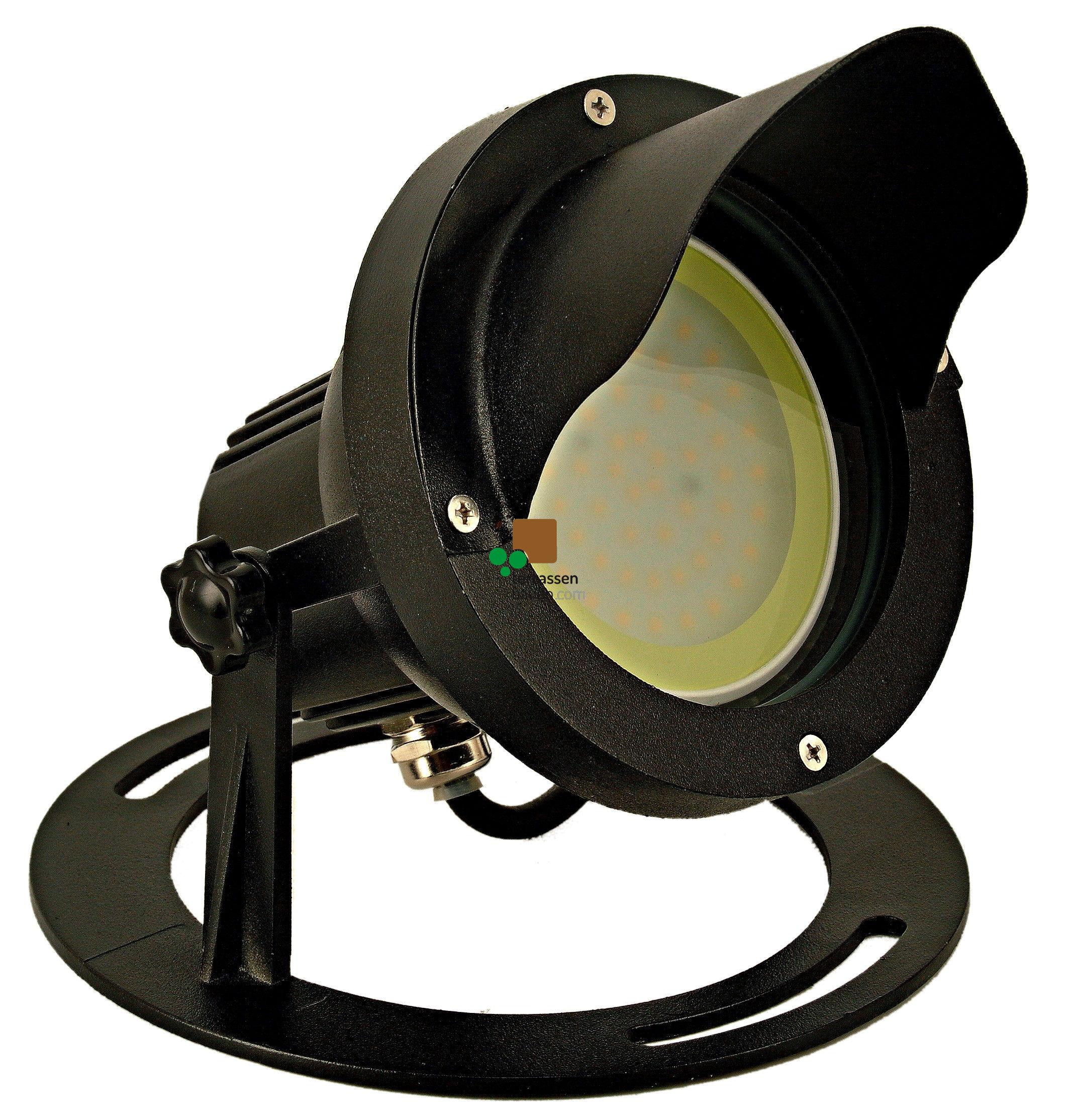 "EasyConnect LED Außenleuchte Aluminium ""Spot round L"", 230VAC, 10W, 1 Stück"