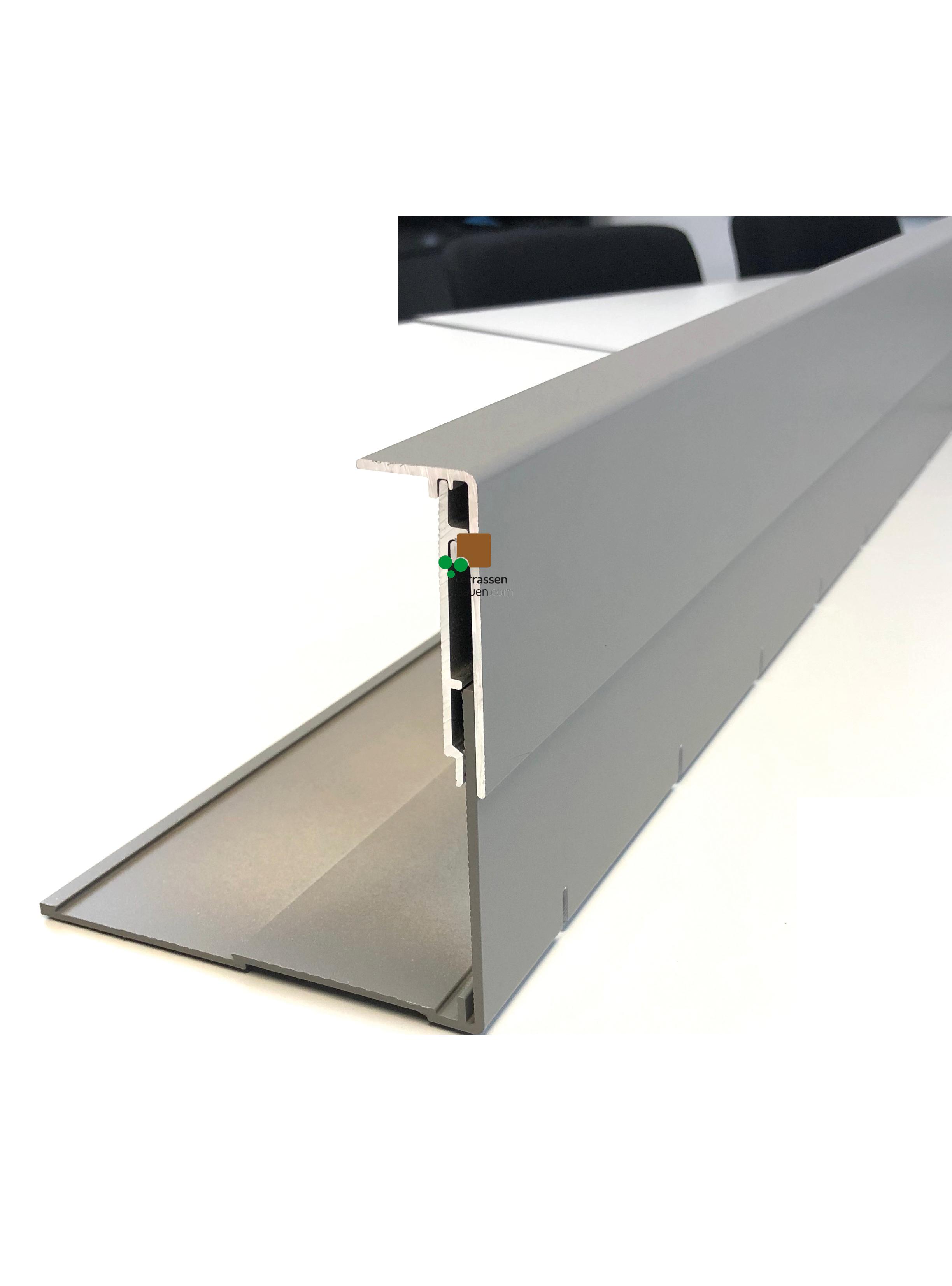 K&R Terracon Seitenverblendung Pro, verschiedene Längen und Höhen