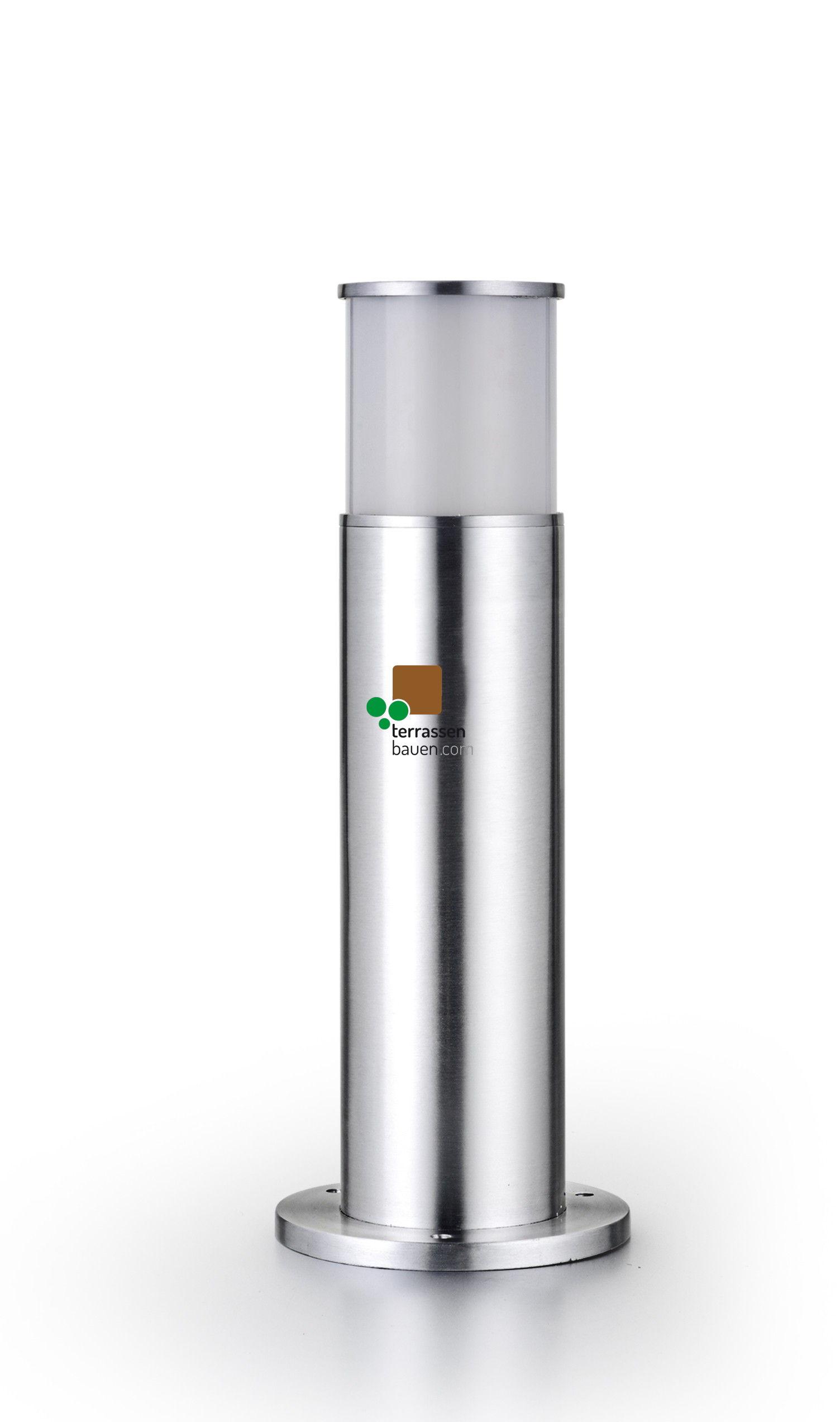 EasyConnect Edelstahl Stand-Außenleuchte LED, 45cm, 11cm ø, 5W, 230VAC, 1 Stück