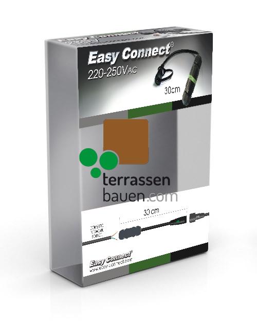 EasyConnect Anschlusskabel für den Direktanschluss, 230VAC an EasyConnect