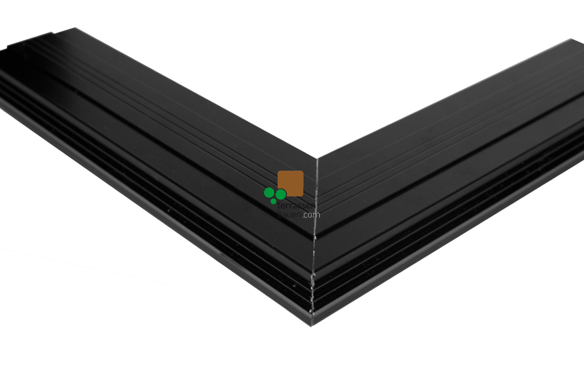 K&R Terracon Eckerverbinder für TWIXT- und BIG Isostep, 180mm Schenkellänge, 2 Stück